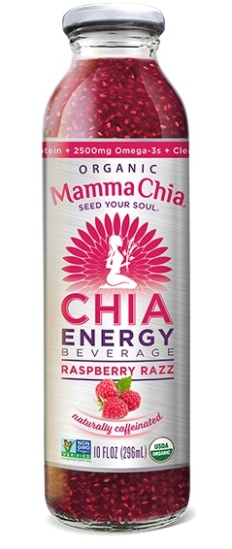 Mamma Chia introduced a natural energy drink.