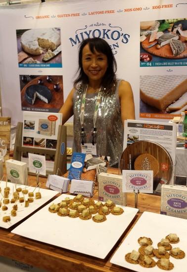 Delicious cashew cheese by Miyoko's Kitchen
