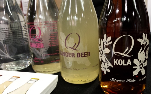 Q Drinks all-natural soda has a new Ginger Beer.